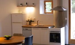 Salon / salle à manger du gîte - Domaine de Montcalm