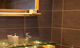 Salle de bain du gîte - Domaine de Montcalm